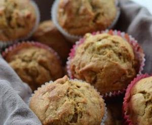 Whole-Wheat Banana Nut Muffins