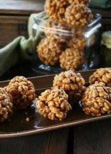 Grandma Reynwald's Puffed Wheat Balls