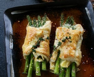Asparagus and Brie Puff Pastry