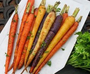 Roasted Heirloom Carrots