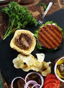 Wisconsin Butter Basted Plant Burger
