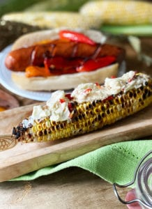 Chile Lime Feta Corn On The Cob Rub
