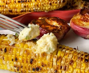 Parmesan Corn On The Cob Butter Rub