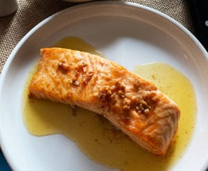 Spicy Butter Salmon