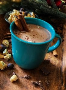 Buttered Rum Hot Chocolate