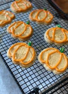 Pumpkin Buttercream Icing